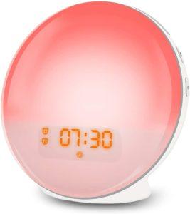 Wecker mit Licht Lichtwecker LED Wake Up Light